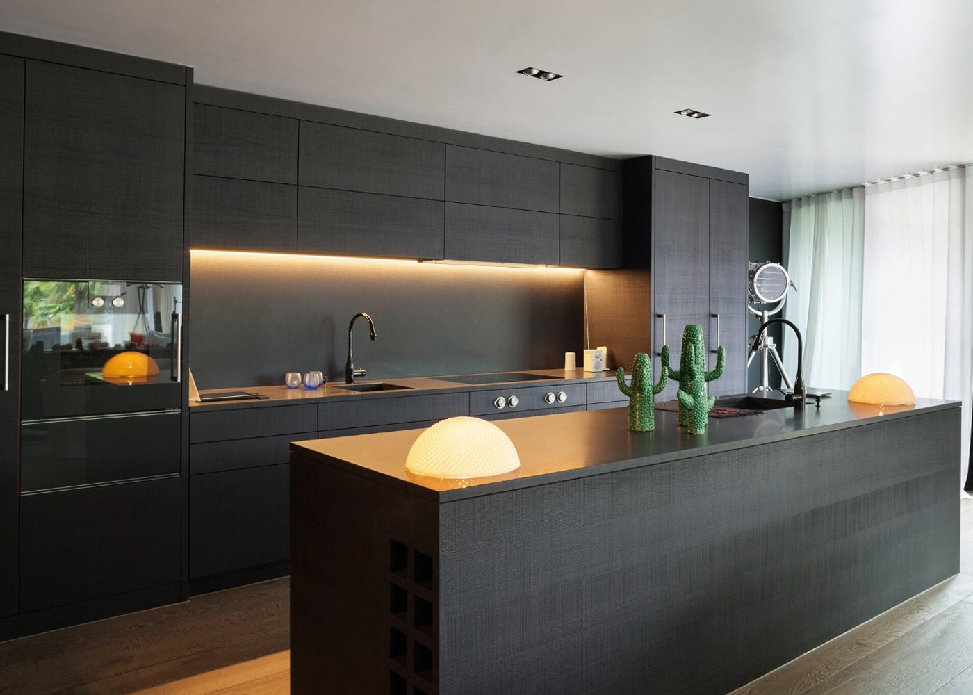 Modern Kitchen Cabinets Design - Blue House