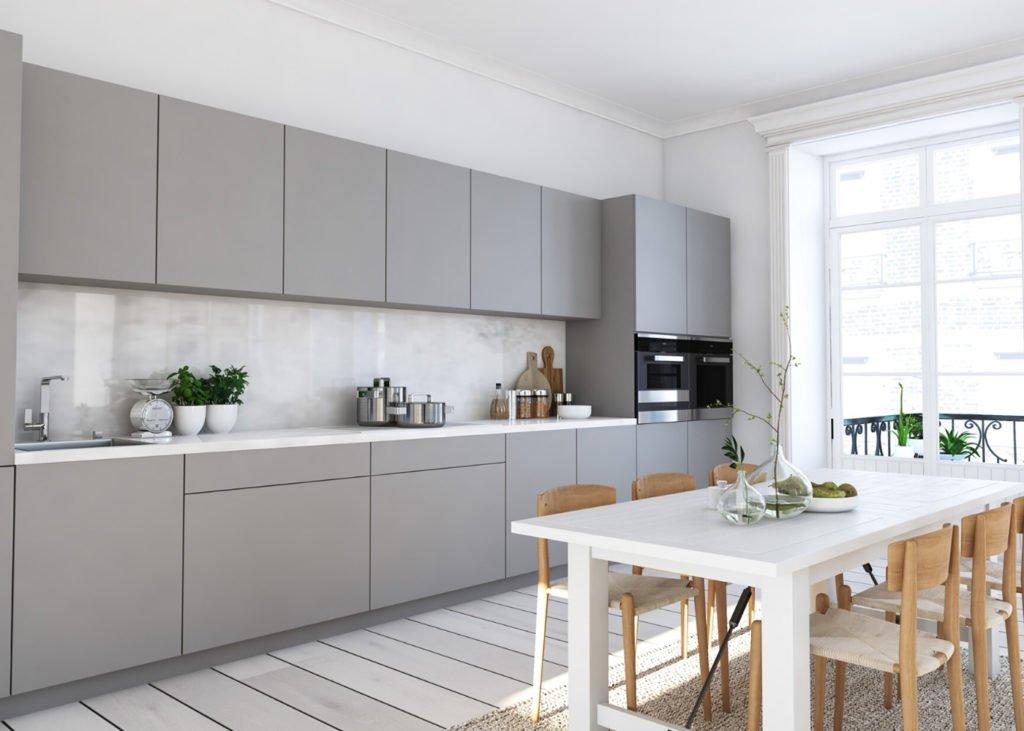 Grey-Modern-Kitchen