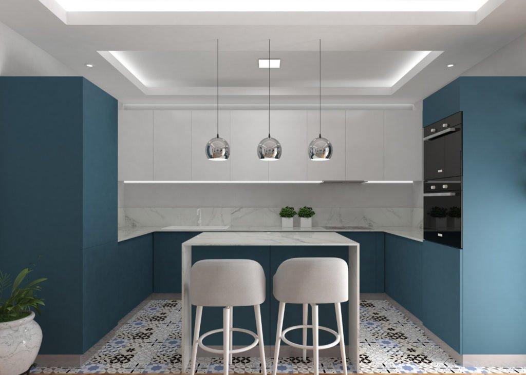 blue-and-white-kitchen