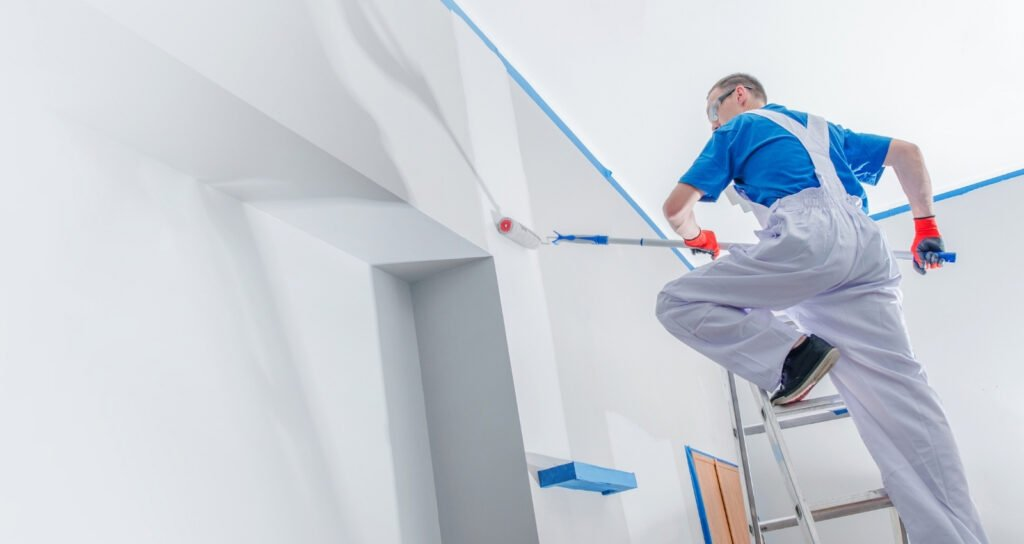 painting walls first