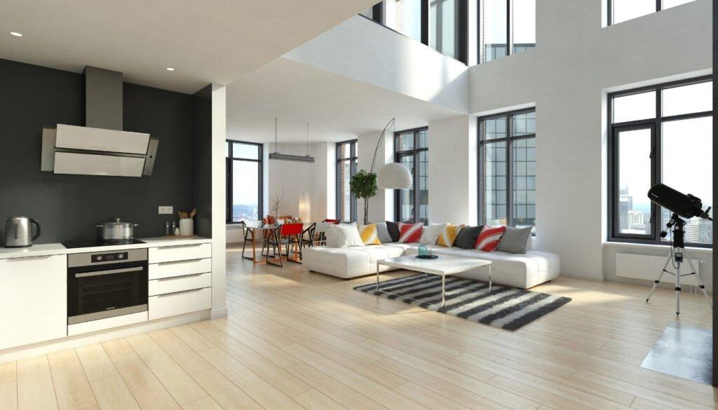 laminate-floor-in-luxury-apartment